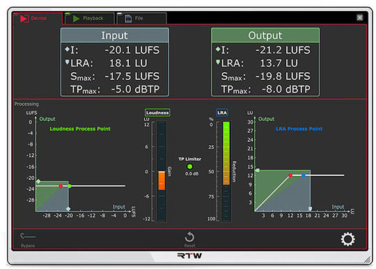 RTW Continous Loudness Control