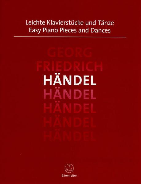 Bärenreiter Händel Easy Piano Pieces