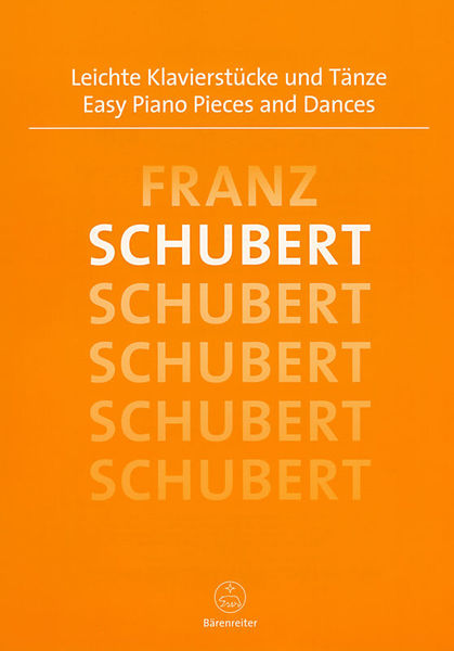 Bärenreiter Schubert Easy Piano Pieces
