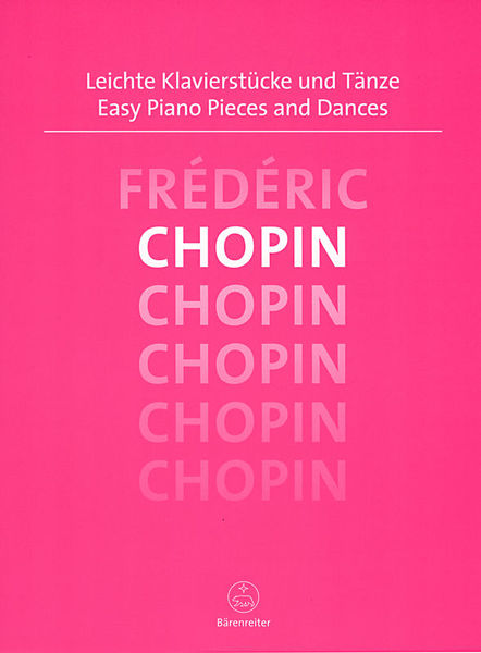 Bärenreiter Chopin Easy Piano Pieces