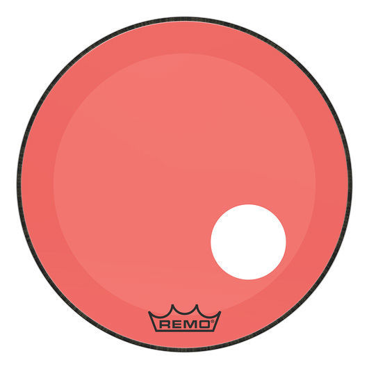 "Remo 26"" P3 Colortone Reso Red"