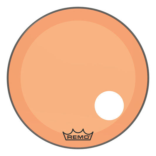 "Remo 24"" P3 Colortone Reso Orange"