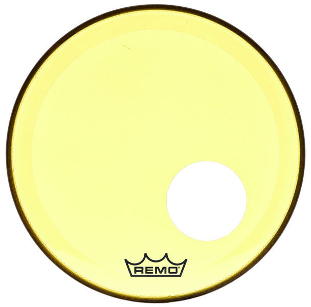 "Remo 18"" P3 Colortone Reso Yellow"