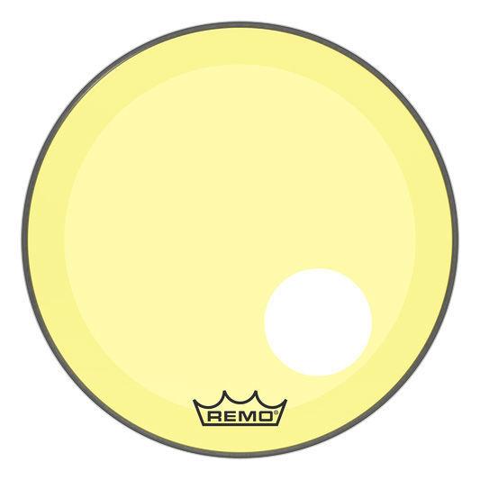 """Remo 20"""" P3 Colortone Reso Yellow"""