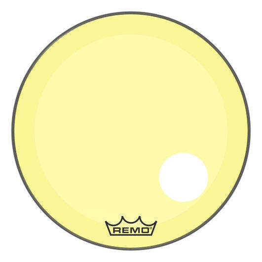 "Remo 26"" P3 Colortone Reso Yellow"