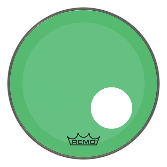 "Remo 18"" P3 Colortone Reso Green"