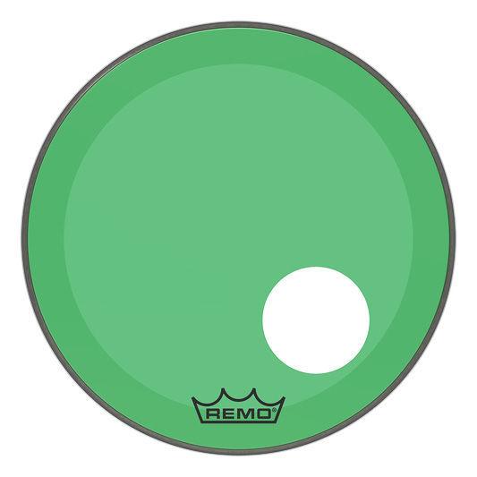 """Remo 20"""" P3 Colortone Reso Green"""