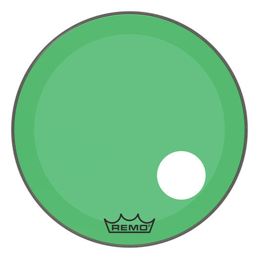 "Remo 24"" P3 Colortone Reso Green"