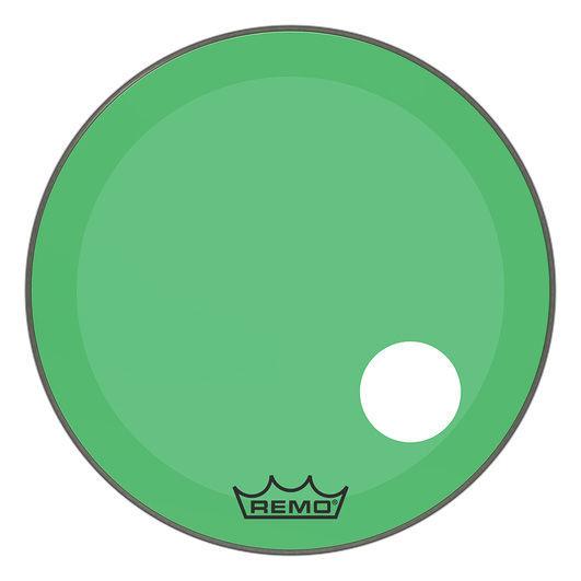 """Remo 26"""" P3 Colortone Reso Green"""