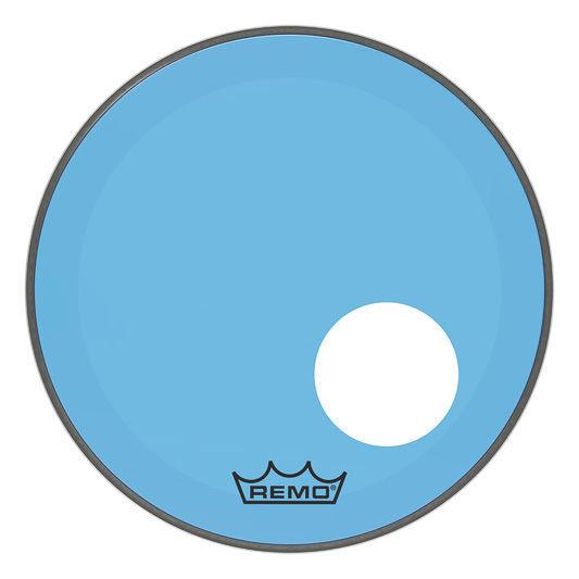 """Remo 18"""" P3 Colortone Reso Blue"""