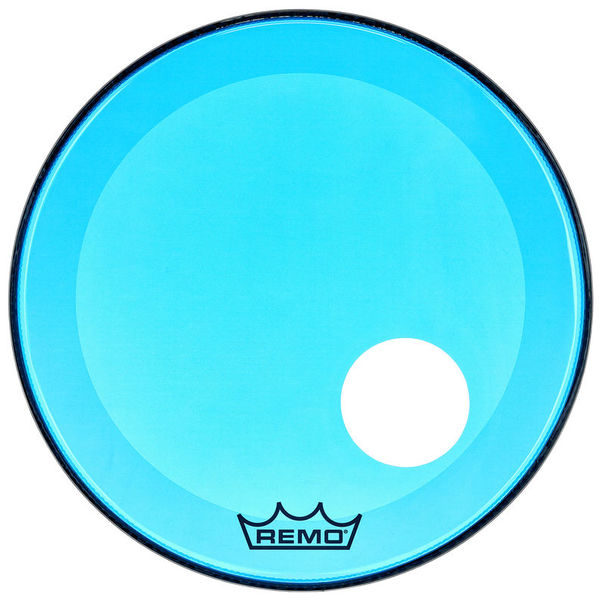 """Remo 20"""" P3 Colortone Reso Blue"""