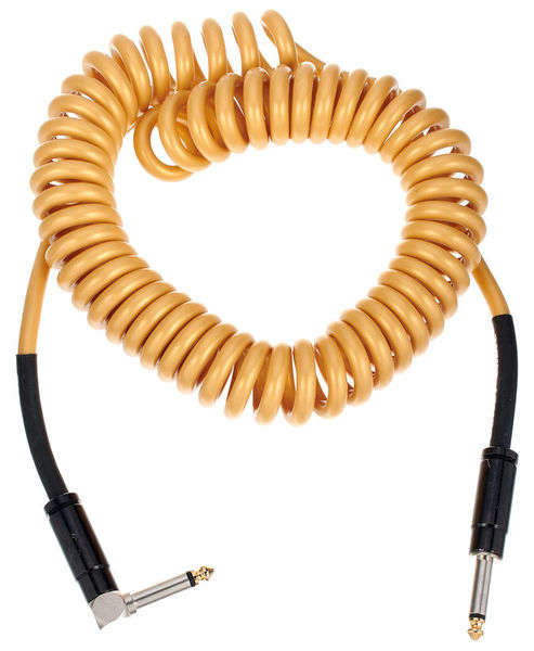 Bullet Cable Coil Cable Gold 4,5m