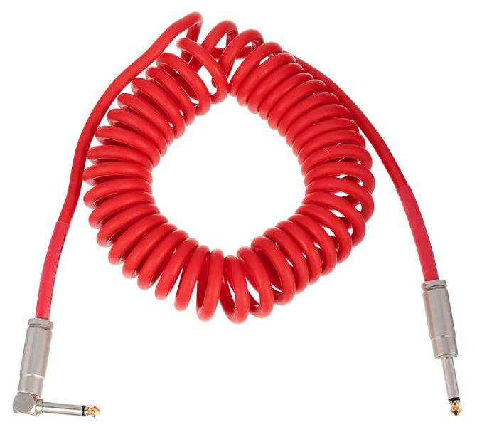 Coil Cable Red 4,5m Bullet Cable