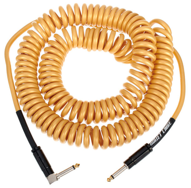 Coil Cable Gold 9m Bullet Cable
