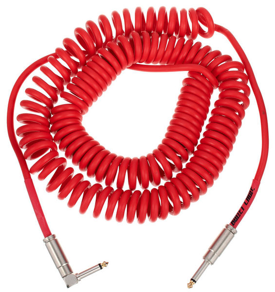 Bullet Cable Coil Cable Red 9m