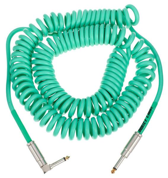 Coil Cable Seafoam 9m Bullet Cable