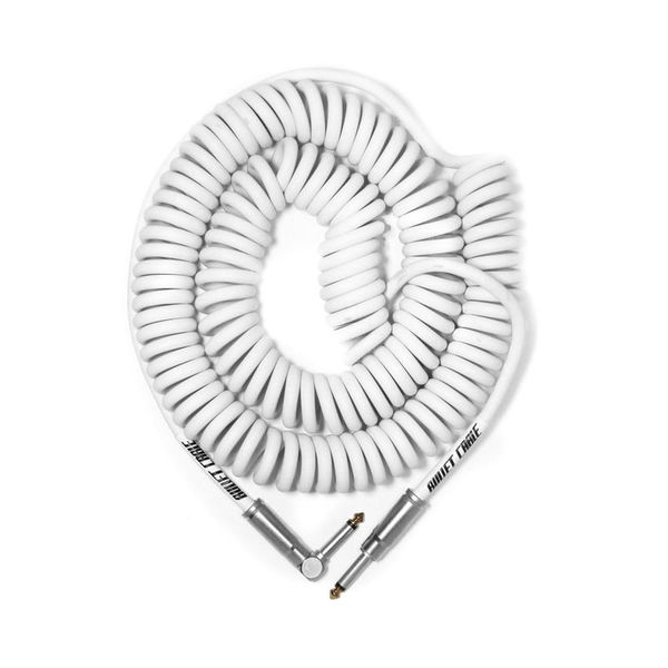 Bullet Cable Coil Cable White 9m