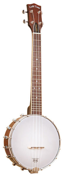 BUT Banjo Ukulele w/Case Gold Tone