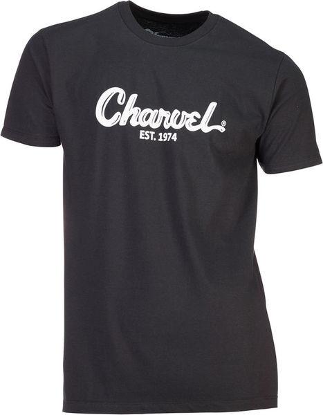 Charvel T-Shirt Charvel Black Logo L