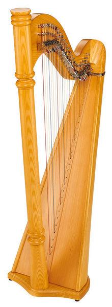 Thomann Pillar Lever Harp 27 Strings