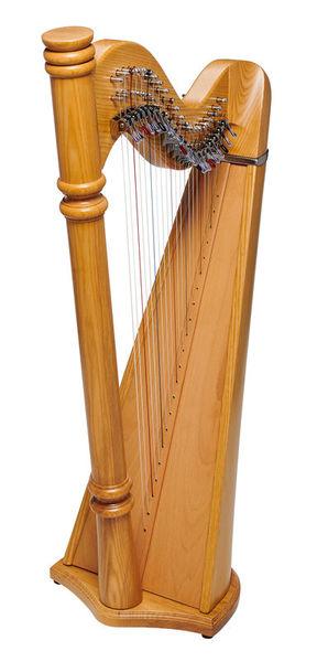 Thomann Pillar Lever Harp 22 Strings