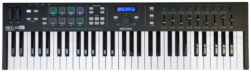 Arturia KeyLab Essential 61 BE