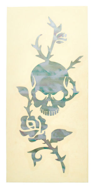 Jockomo Rose & Skull Sticker WP