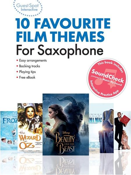 Wise Publications Favourite Film Themes Sax