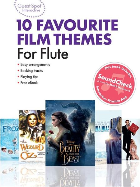 Wise Publications Favourite Film Themes Flute