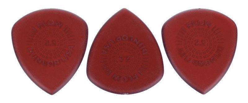 Dunlop Flow Jumbo Picks 2.50 brown