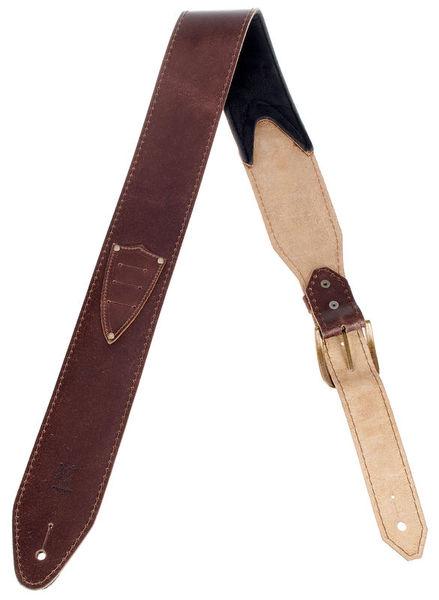 Minotaur Pickholder Guitar Strap Brown