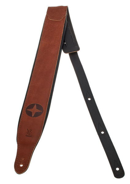 Minotaur North Star Guitar Strap Brown