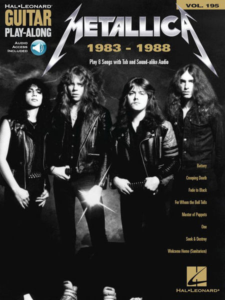 Hal Leonard Guitar Play-Al. Metallica 1983