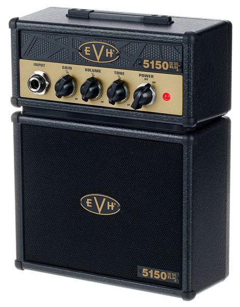 Evh EL34 5150 Micro Stack BK/Gold
