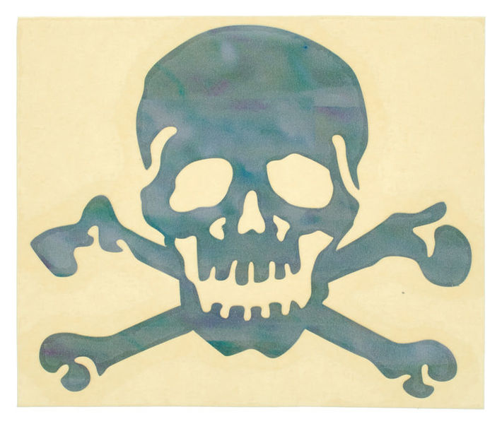 Jockomo Skull Sticker WP