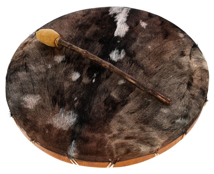 Shaman Drum Goat Skin Terre