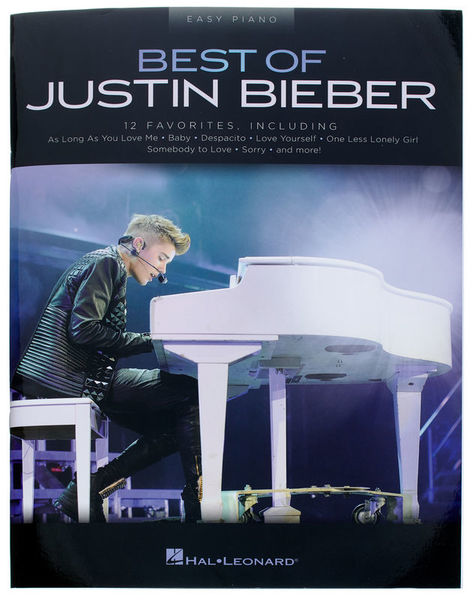 Hal Leonard Best Of Justin Bieber