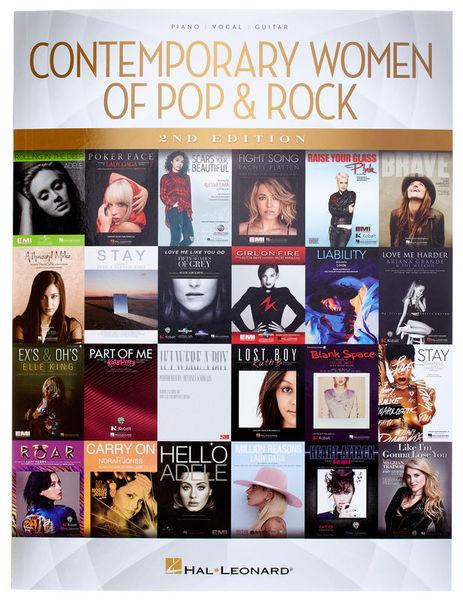 Hal Leonard Contemporary Women Of Pop