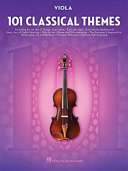 Hal Leonard 101 Classical Themes Viola