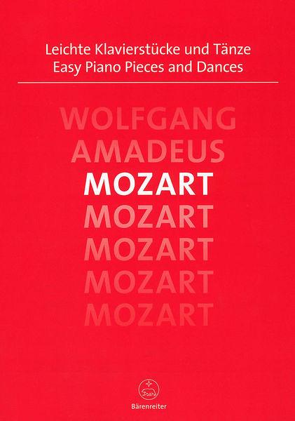 Bärenreiter Mozart Easy Piano Pieces