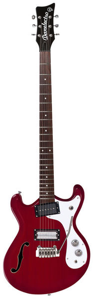 Danelectro 66BT Transparent Red