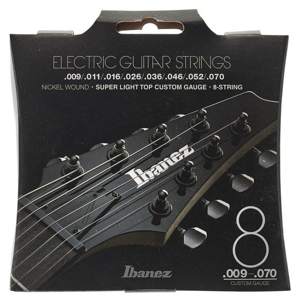 Ibanez IEGS82 E-Guitar String Set 009