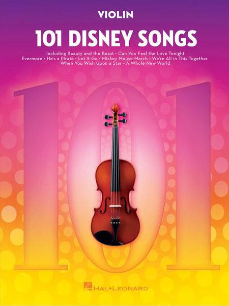 101 Disney Songs Violin Hal Leonard