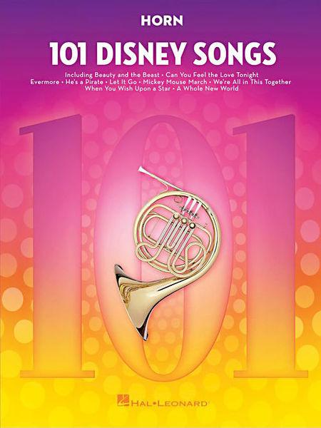 Hal Leonard 101 Disney Songs: Horn