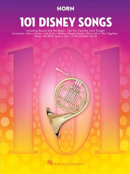 Hal Leonard 101 Disney Songs Horn