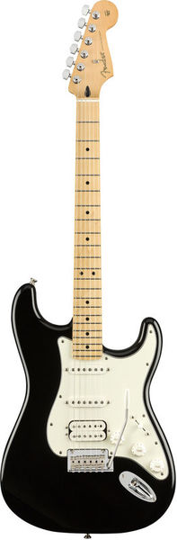 Fender Player Series Strat HSS MN BLK