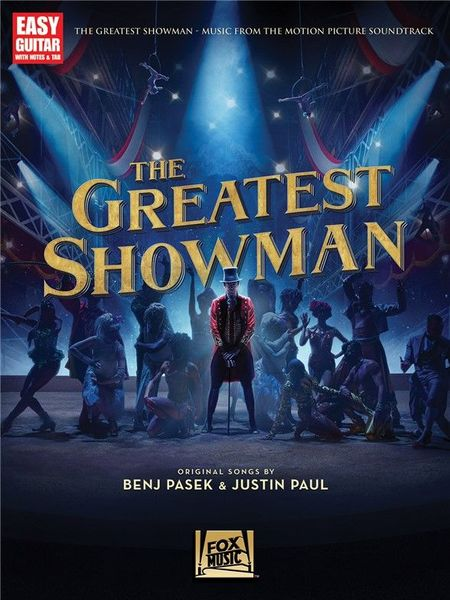 Hal Leonard The Greatest Showman Guitar