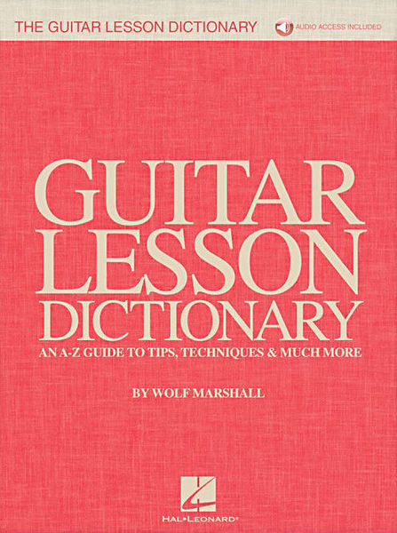 Hal Leonard The Guitar Lesson Dictionary
