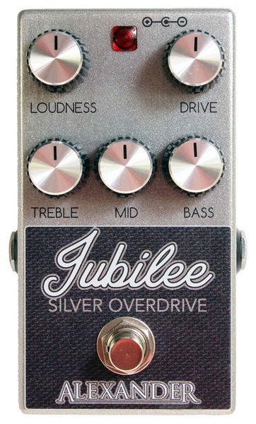 Jubilee Silver Overdrive Alexander Pedals