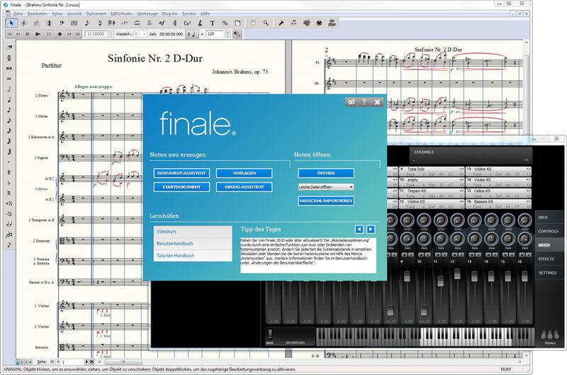 MakeMusic Finale 25 (D) Student/Schüler